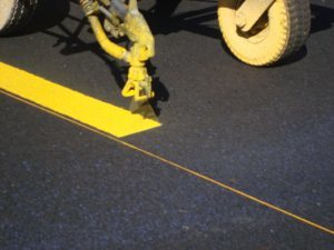 Line Marking Driveway Tar and paving Hill Rise A H